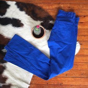 RALPH LAUREN SPORT • Blue Sapphire Tall Jeans